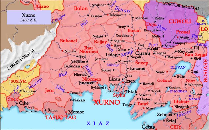 [ Xurno map ]